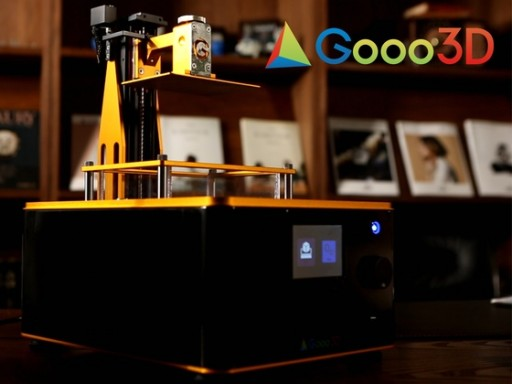 Gooo3D Launches G Printer - the World's First UV DLP 3D Printer That Does Not Require a PC or Network Connection