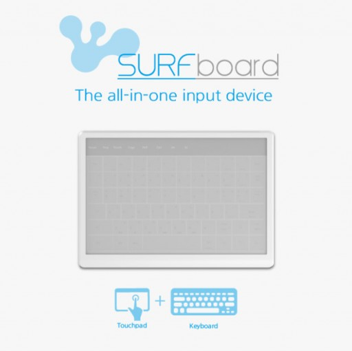 SurfBoard : Not Just a Touchpad/Keyboard Replacement; It Is the All in One Input Device to Control Just About Any Smart Device.