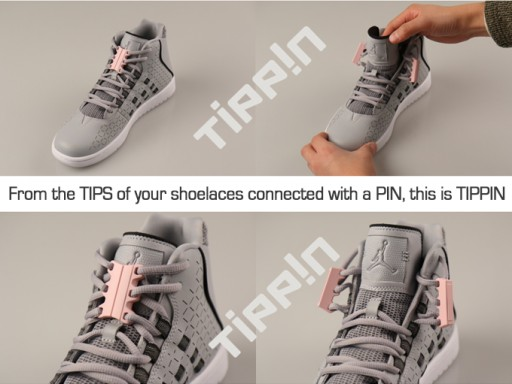 TIPPIN - A Simple & Attractive One-Touch Magnetic Solution for Shoelaces