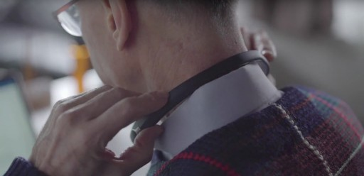 Nuguna Neckband - the First Neckband for the Deaf That Vibrates When Noise Is Detected